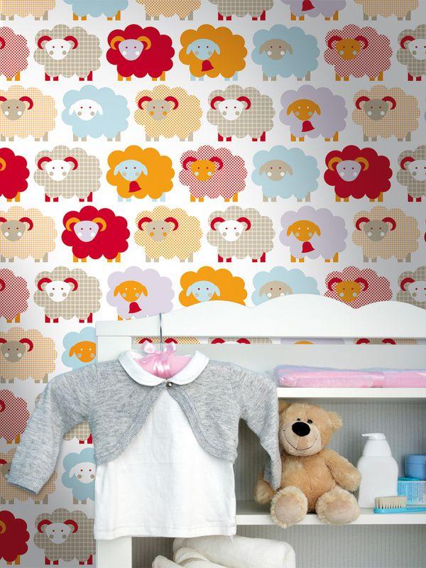 Marketa / non-woven wallpaper / lavmi