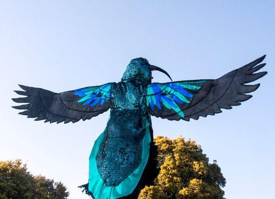 hummingbird costume handmade by DDDESIGNCOSTUMES on Etsy