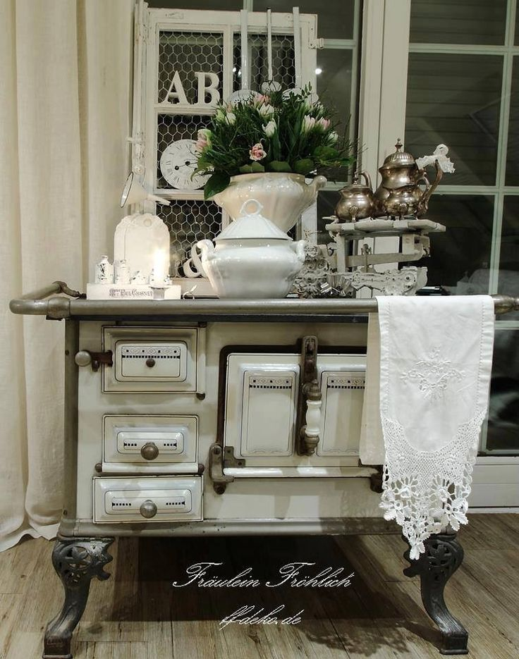 95 best vintage stoves images on pinterest vintage stove for Deko vintage shabby chic