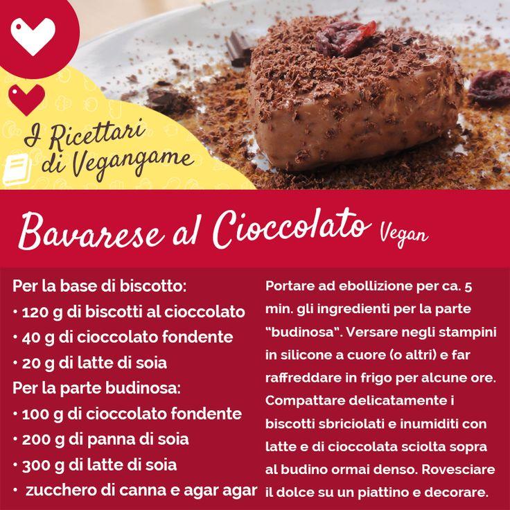 Bavarese Vegan! #ricetta #vegan #vegangame #bavarese #bavaresecioccolato #bavaresevegan Link alla RICETTA COMPLETA: http://www.vegangame.it/ricetta-vegan/bavarese-al-cioccolato-vegan