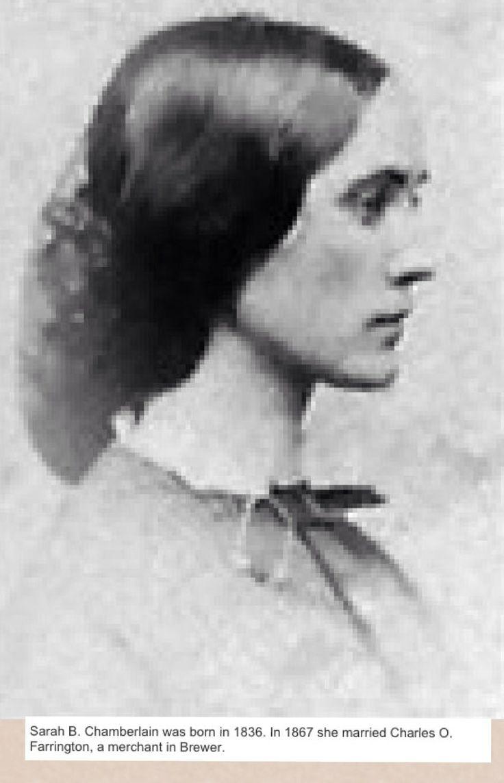 Sarah B Chamberlain, sister of Joshua Chamberlain | Union ...