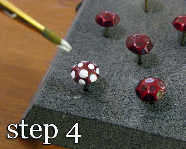 {DIY Miniature Fairy Mushrooms} Perfect for a fairy garden!