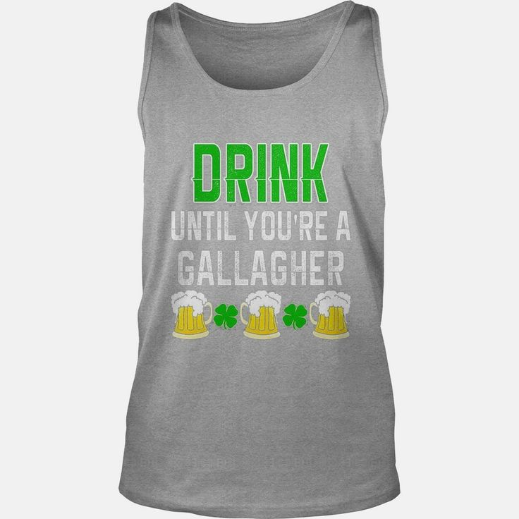 Beer Drink Until You're a Gallagher St Patrick's T-Shirt, Order HERE ==> https://www.sunfrog.com/Holidays/114157276-435980365.html?58114, Please tag & share with your friends who would love it, #redhead stockings, ginger weightloss, ginger drink #cars, #home, #decor  #redhead sayings freckles, redhead sayings girls, redhead sayings blondes  #science #nature #sports #tattoos #technology #travel