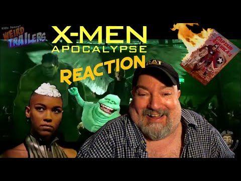 Reaction a X-MEN APOCALYPSE Weird Trailer by Aldo Jones