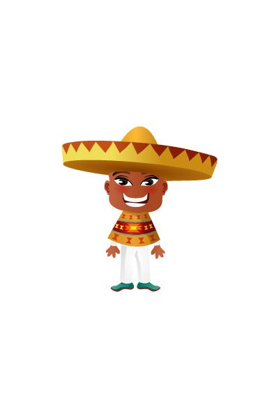 Mexican Man Vector Image #people #world http://www.vectorvice.com/people-world-vector