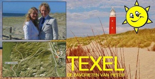 Pieter vertelt je waar je echt eens heen moet op Texel! Check:  http://www.dagjeweg.nl/nieuwsredactie/19444/Texel%3A%20de%20favorieten%20van%20Pieter