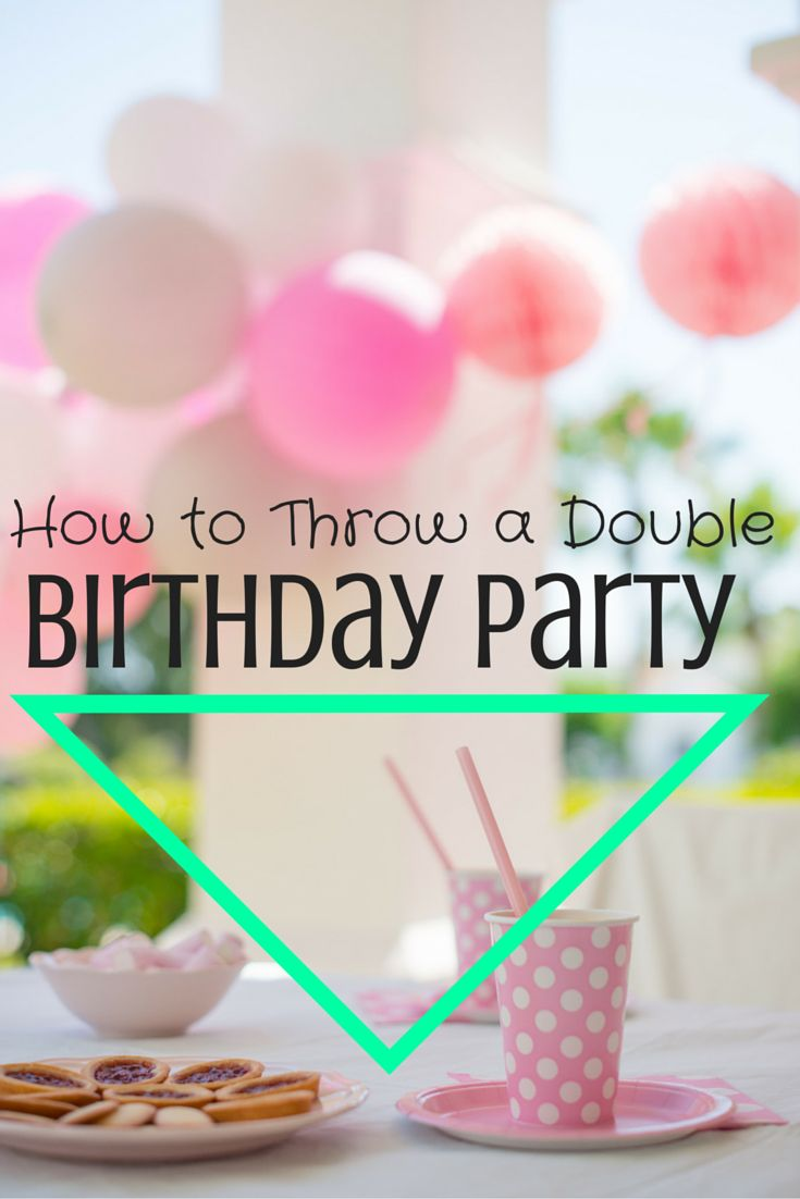 If your children have birthdays in the same week, it might be a good idea to combine their parties and throw one huge party! You can save money, and make the party more fun by making it bigger. Of course, get buy in from your kids before you do this, as sibling rivalry could cause them to hate the idea. Read on for tips and tricks to make your joint birthday party fun for everyone.