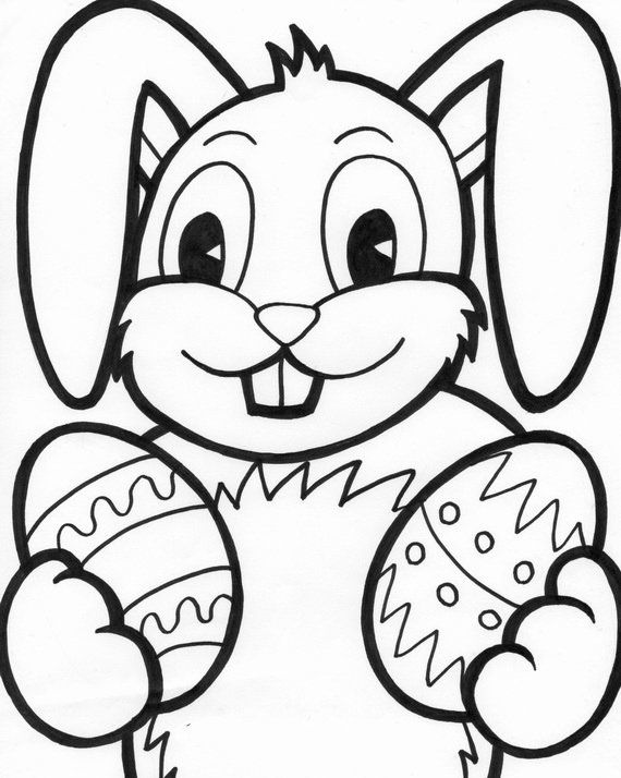 Spring Bunny Coloring Pages Awesome Easter Bunny Coloring Pages For Kids Family Holiday Bunny Coloring Pages Easter Bunny Colouring Easter Coloring Pages