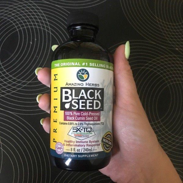 زيت الحبة السوداء النقي المستخرج بالضغط بالتبريد من اي هيرب Cumin Seed Herbs Black Seed