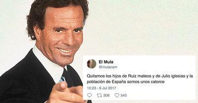 Los mejores memes de la nueva paternidad de Julio Iglesias