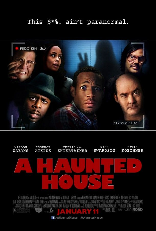 A Haunted House - Movie Poster. A Haunted House looks dangerously funny. Marlon…