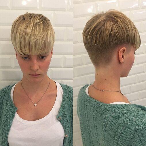 Classic Bowl Haircut for Short Hair