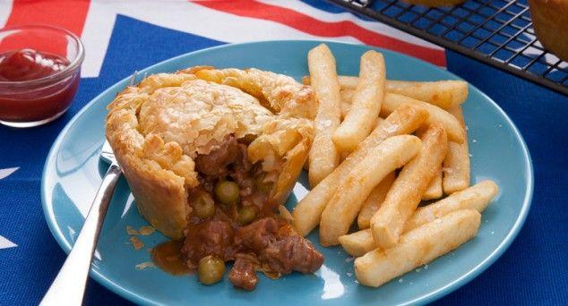 Onion and Braised Steak Pies
