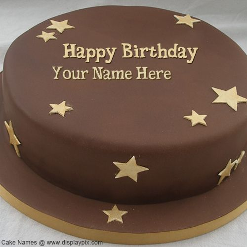 Happy Birthday Chocolate Cake Name Profile Picture Images With Editor