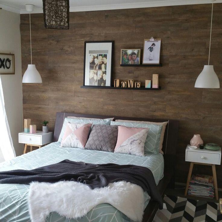 My summer bedroom styling