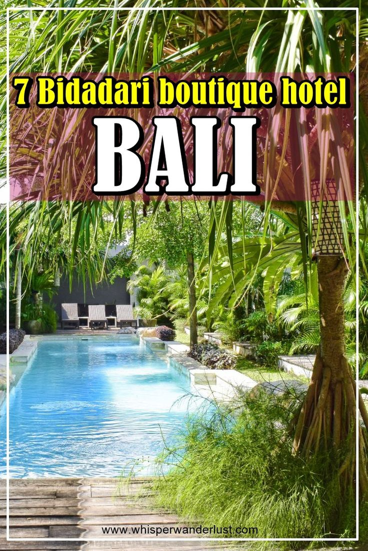 7 Bidadari boutique hotel | bali | indonesia | where to stay in Bali | Bali accommodation | Bali Indonesia | Seminyak | Seminyak Bali | hotels Bali | Bali places to stay | best place to stay in Bali