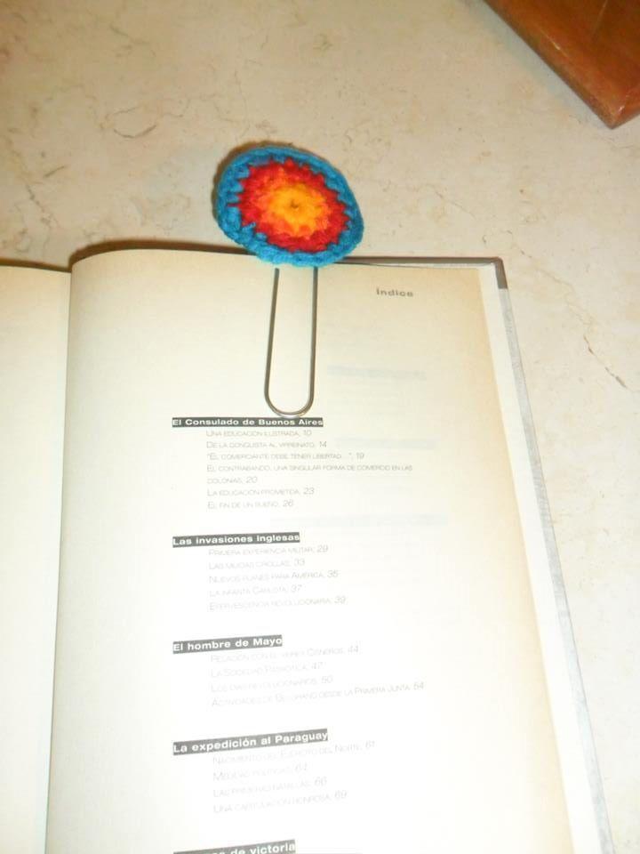 CROCHET MARCAPAGINA - BOOKMARK
