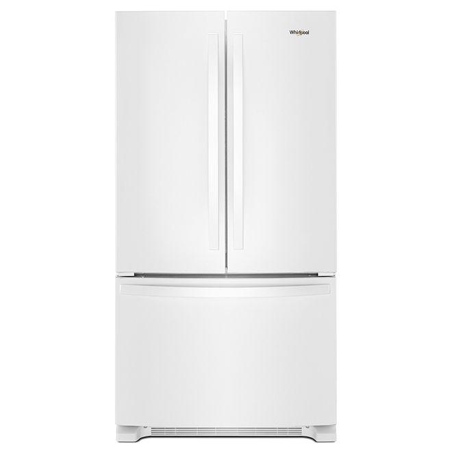 Whirlpool Tm French Door Refrigerator 33 22 Cu Ft