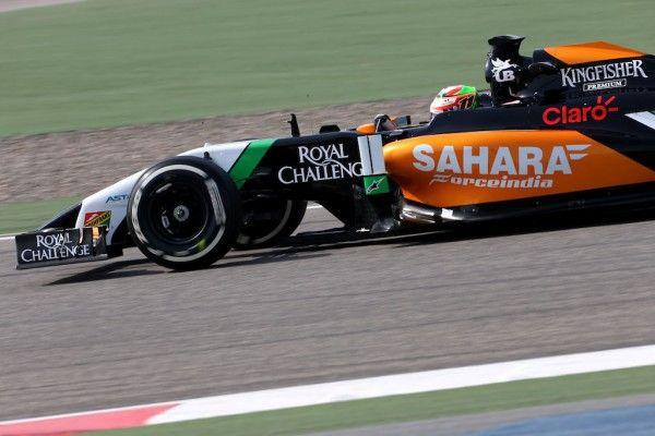 Sergio Perez Sahara Force India 2014