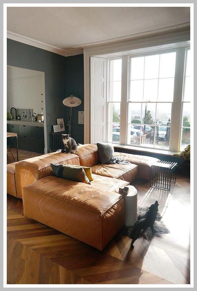 Copy Cat Chic Room Redo Cozy Living Room Brown Living Room Living Room Leather Living Room Color