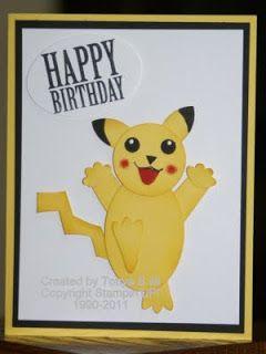 Stampin' With Tonya: Pokemon Birthday