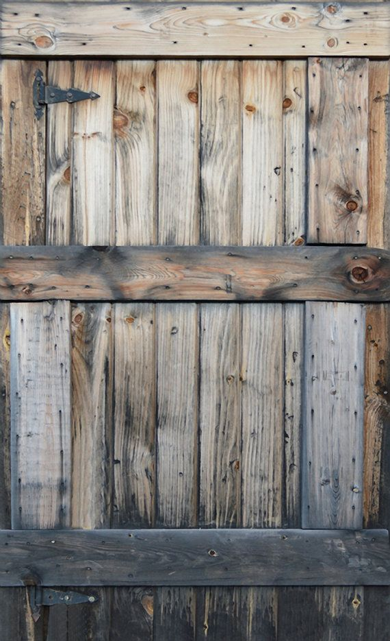 Photography backdrop free shipping fort voyager by northerndrops rustic wood door distressed for Distressed wood interior doors