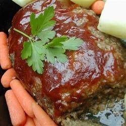 Vleesbrood (Meat Loaf) In Slowcooker recept | Smulweb.nl