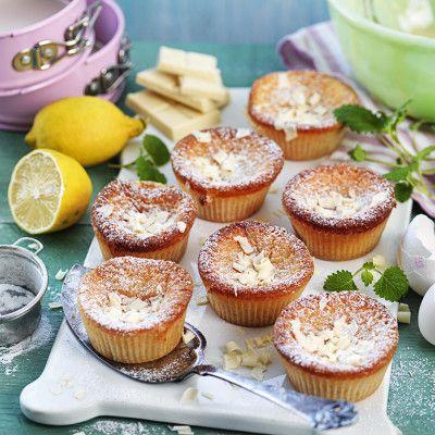 Små citronkladdkakor