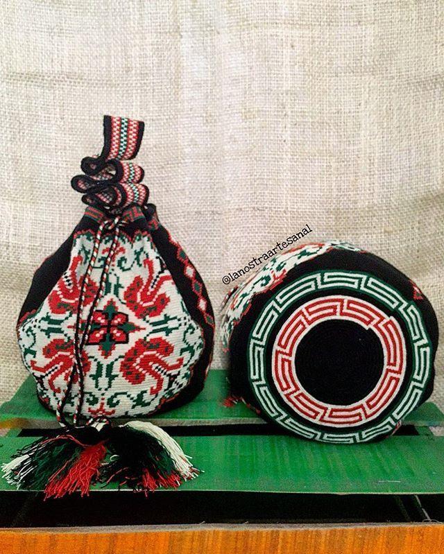 Wayuu Bags 1 Hebra Special  - Handmade - Original Wayuu @lanostraartesanal