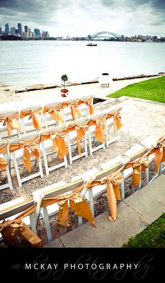 Bradley's Head - wedding ceremony location in Sydney