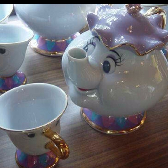Beauty And The Beast Tea Set Will This Be The China On