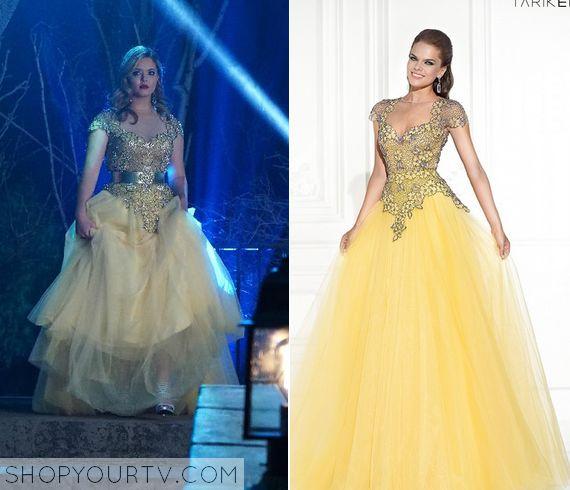 Pretty  liars 2 yellow dresses delias