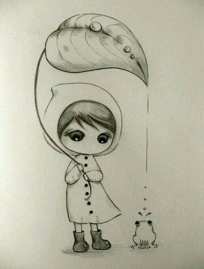 1001 Idees Pour Creer Le Plus Beau Dessin Mignon Cute Drawings Drawings Sketches