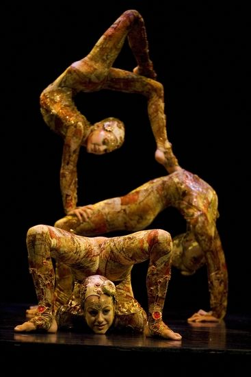 Kooza contortion going to see this tonight!!!!