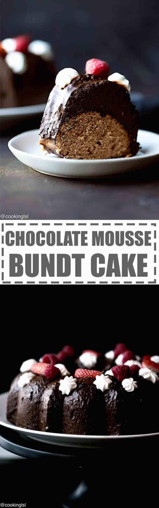 Bundt Cake Made With Saurekraut