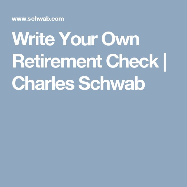 write your own check