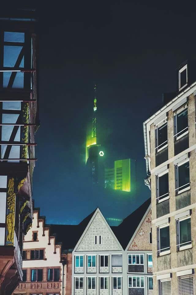 Gute Nacht Frankfurt Nach Dem Sturm 18 Januar 2018