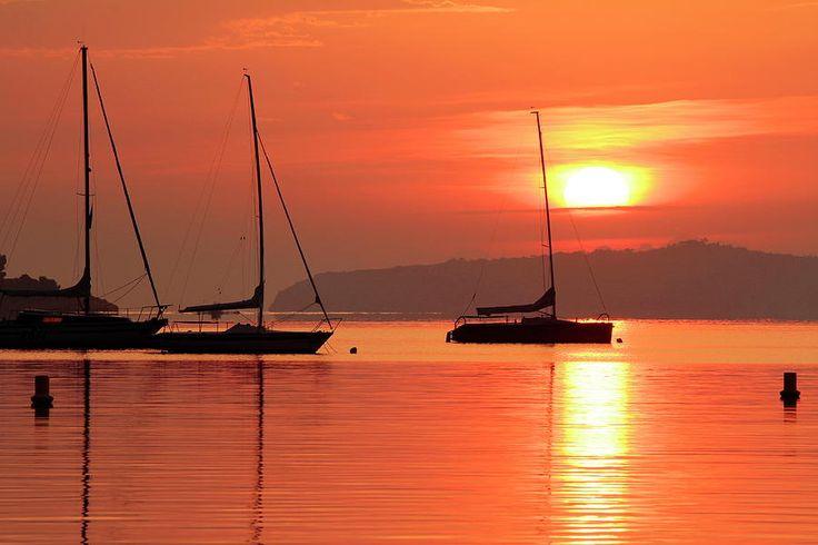sunrise at port de pollenca