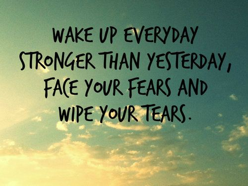 "Sahhlena: ""Wake Up Everyday Stronger Than Yesterday, Face"