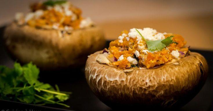 Ine Jacobs - Zoete aardappelfantasie in een portobello-hoedje
