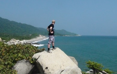 looking over Parque Tayrona..experience it!