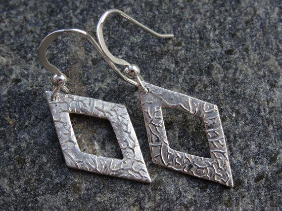 Silver Drop Earrings Diamond just for by SilverWindsJewellery https://www.etsy.com/uk/listing/253082626/silver-drop-earrings-diamond-just-for?ref=shop_home_active_11
