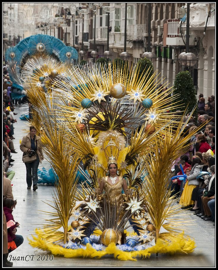 Tenerife Carnival. The Carnival of Santa Cruz de Tenerife  is held each February in Santa Cruz de Tenerife, the capital of the largest of the Canary Islands, and attracts people from all over the world.