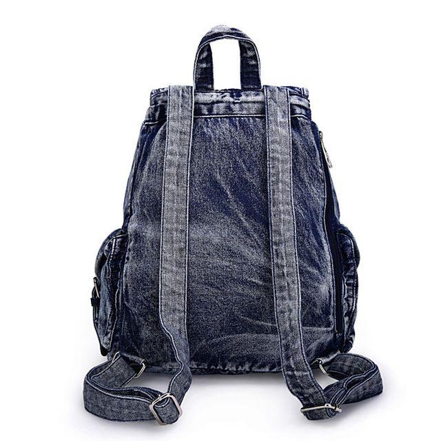 2017 Mulheres Da Moda Sacos De Escola Para Adolescentes Mochilas Denim Bolsa de Ombro Meninas sacos de Viagem Bagpack Bolsas Mochilas Femininas