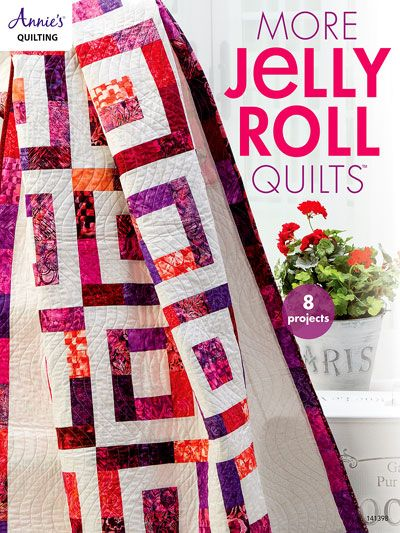 "Enjoy eight inspirational patterns perfect for weekend projects. All projects use 2 1/2"" strips in the construction making this your go-to book for moments when you want to create the perfect quilt without all the added planning and prepping. Save time and frustration by using preselected and precut strips."