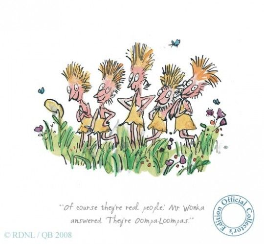 Love Quentin Blake's Illustrations!