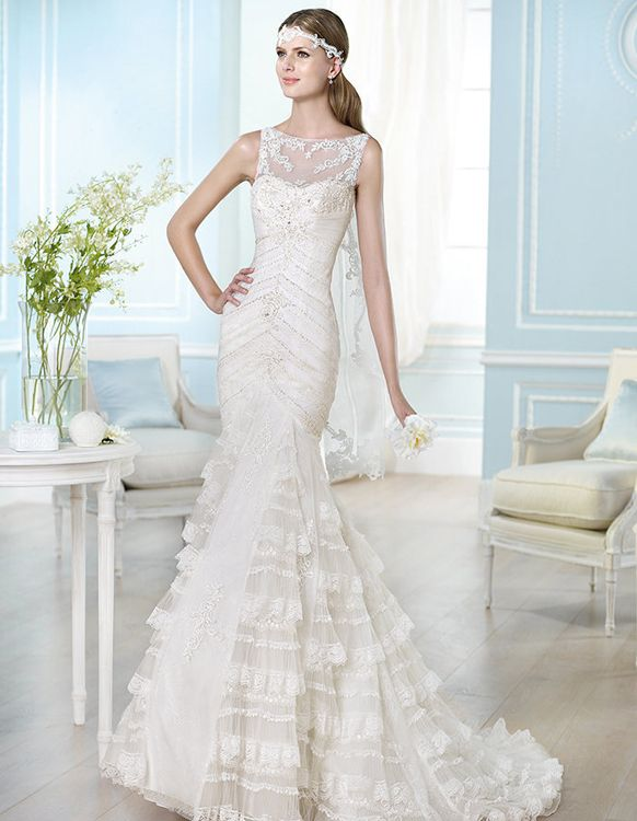 2014 wedding gowns   The 2014 Wedding Dress Trends with San Patrick 2014 Bridal Gown ...
