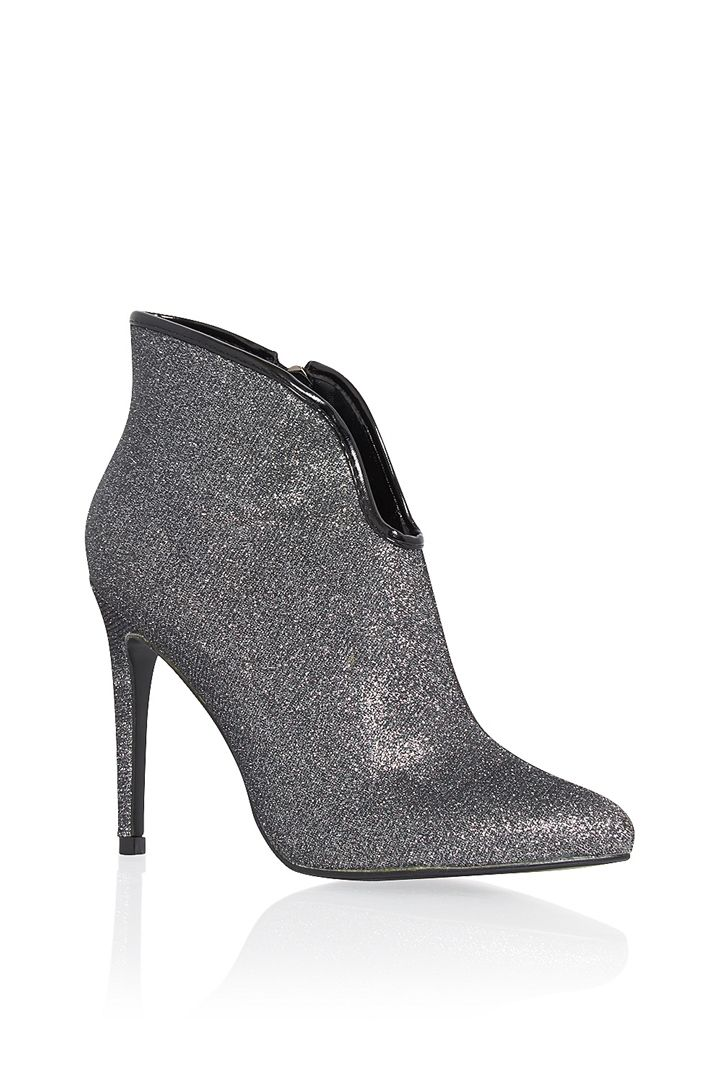 Dressy Heel Glitter Women's Ankle Bootie by Lady Couture DIOR