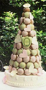 Laduree Macaron Tower.