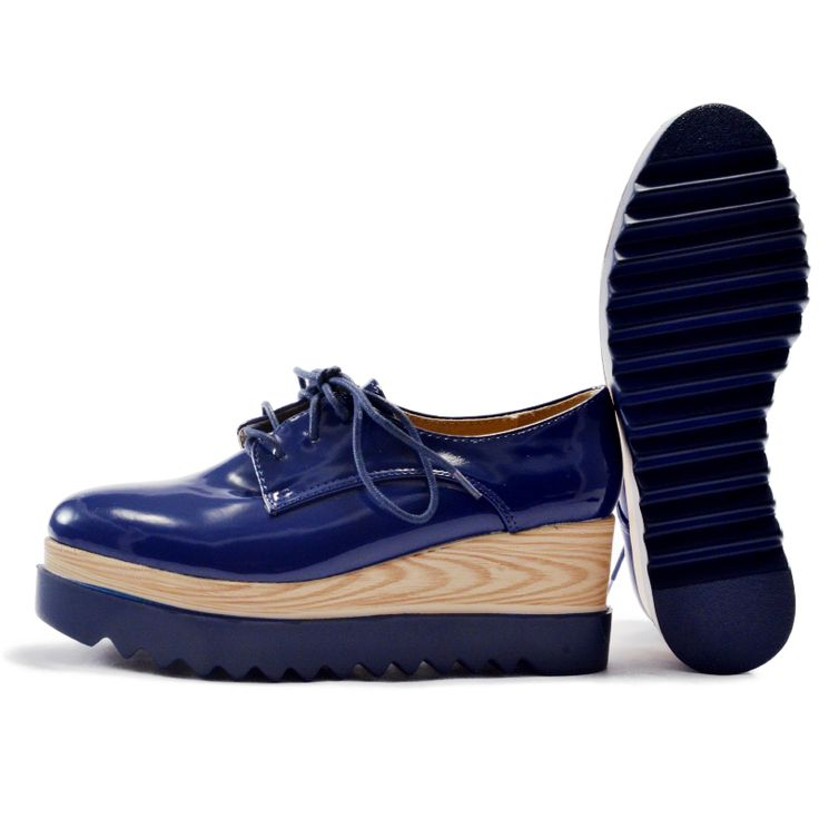 Autumn is getting close! LOVE this Oxford navy style! Don't miss it <3 # oxford shoes only in www.slipperland.gr